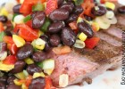 Spice Rubbed Steak with Corn and Black Bean Salsa