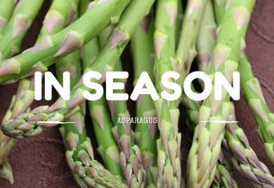 IN SEASON aspragus